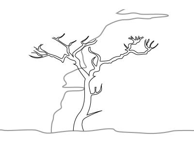 Как просто нарисовать закат