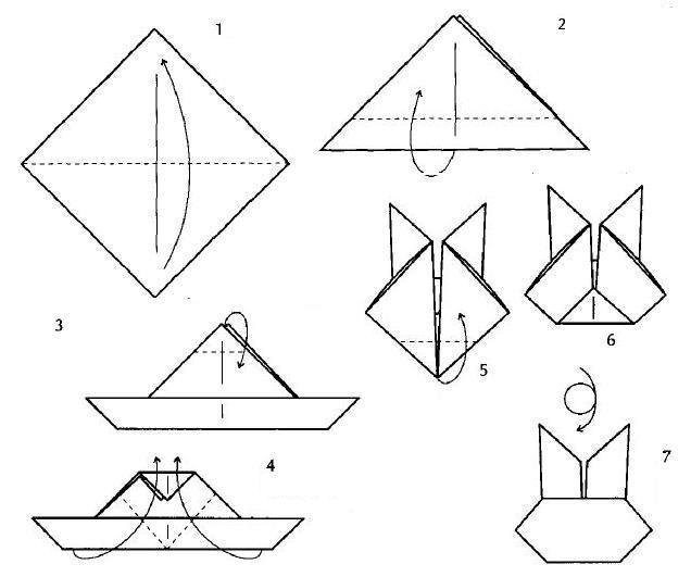Презентация Оригами Заяц