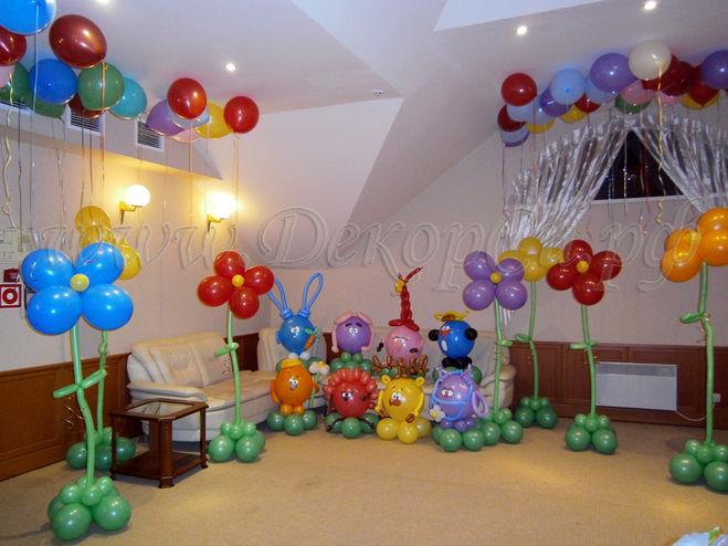 как украсить детскую комнату на день рождения своими руками