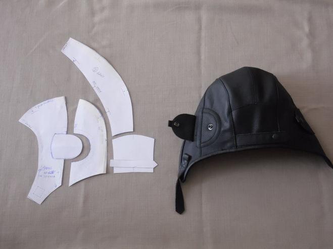 Как сшить шлем Выкройка шлема