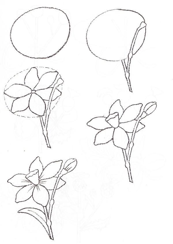 Рисунок «Цветок» 42