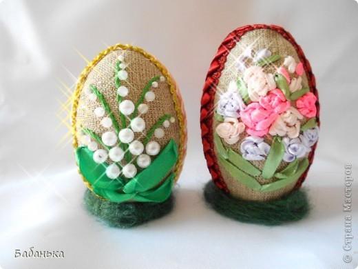 Пасхальное яйцо поделка