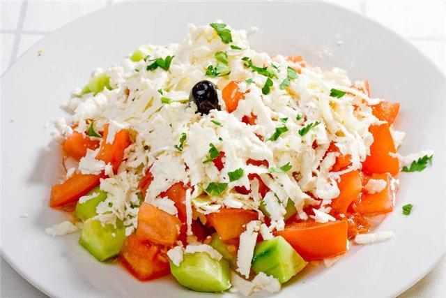 Салат клеопатра рецепт с семгой помидорами морковью