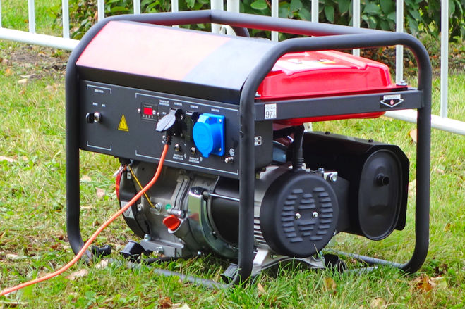 Генератор электричества на дачу
