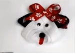 собака из репсовых лент своими руками