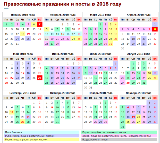Праздники 25 августа 2018 года