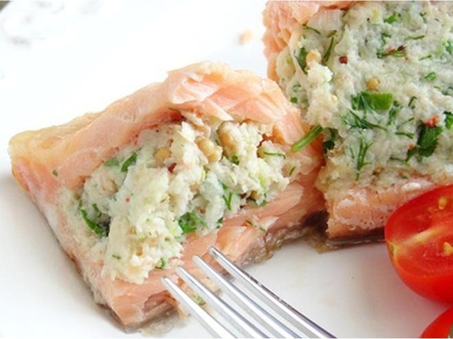 Как приготовить красную рыбу, Как приготовить фаршированную красную рыбу, Как приготовить фарш для рыбы, рецепт приготовления красной рыбы