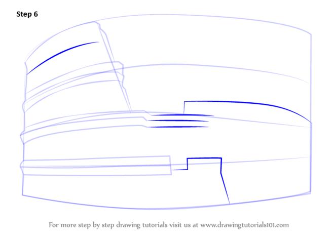 как нарисовать колизей5