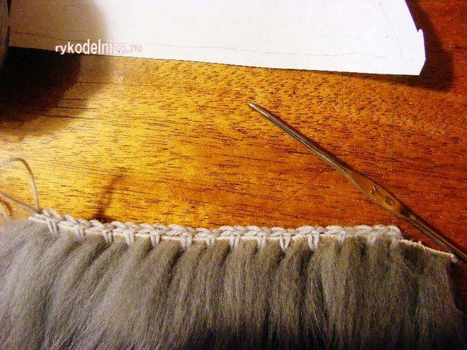 Связать из меха своими руками фото 290