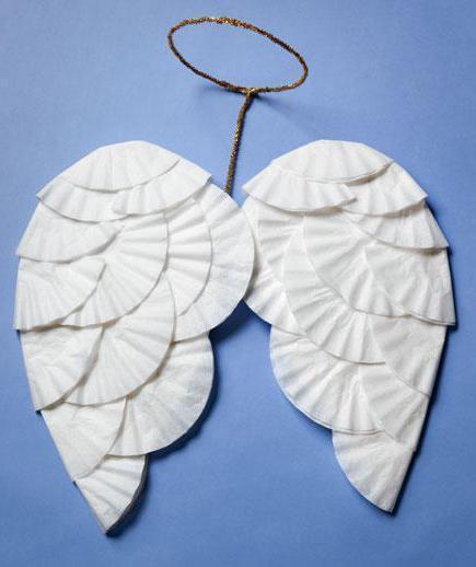 Крылышки ангела своими руками из бумаги