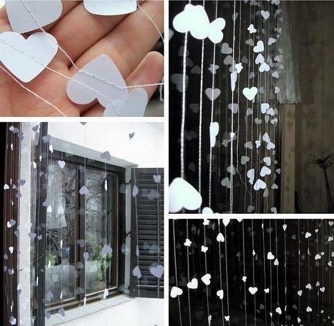 Как украсить в доме дождиком своими руками