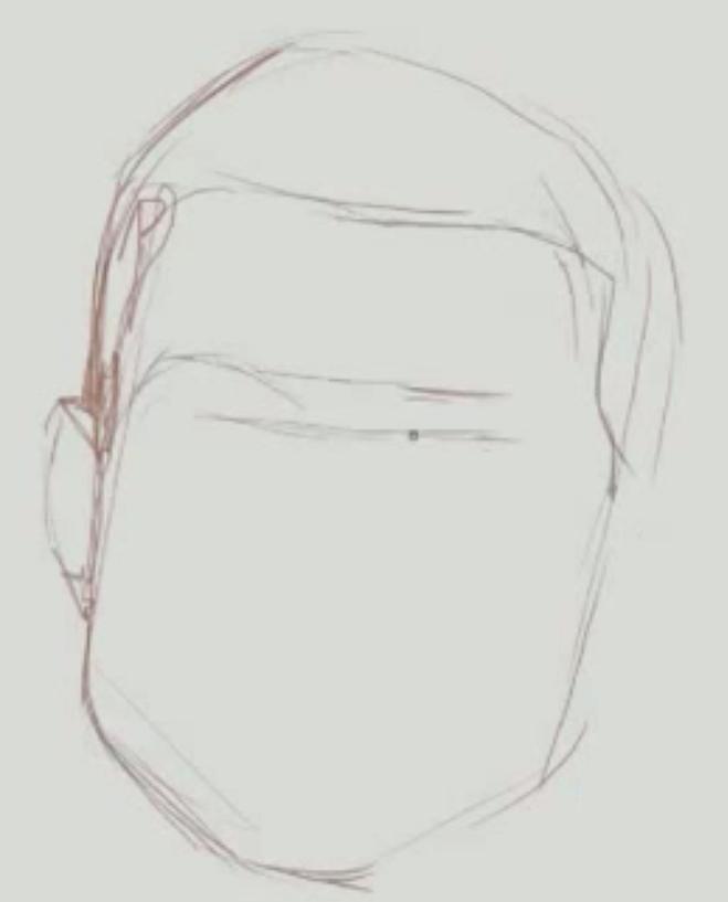 Как нарисовать, криштиану, роналду карадашом