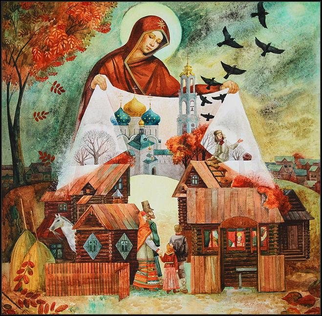 Покров Пресвятой Богородицы - история происхождения, праздник ли это?