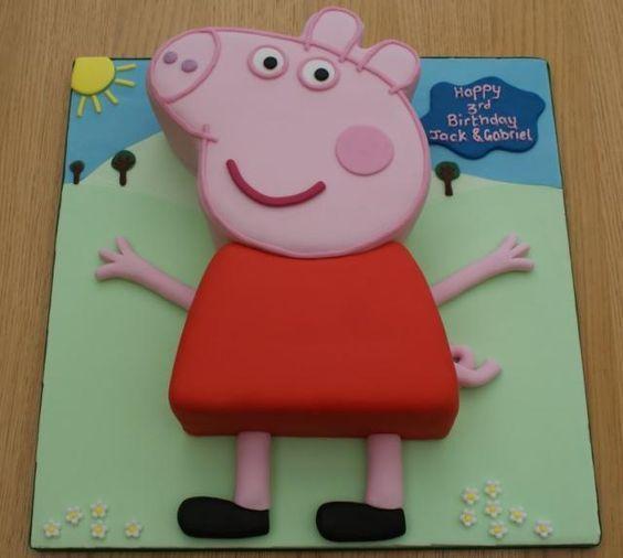 Как сделать торт свинка пеппа своими руками 92