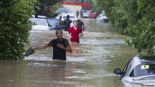 Наводнение. Сочи 2015.