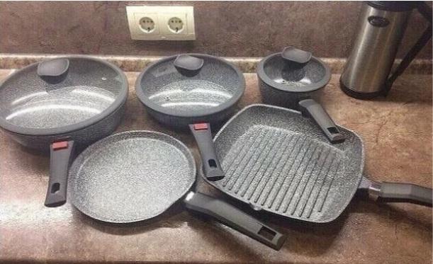 купить магнитовские сковородки