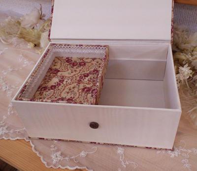 Шкатулка из коробки от обуви своими руками