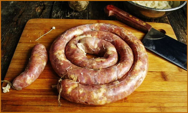 Домашняя колбаса вкуснее всех