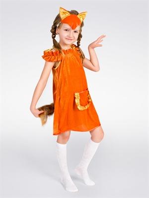 Костюм лисы для девочки своими руками выкройка фото 734