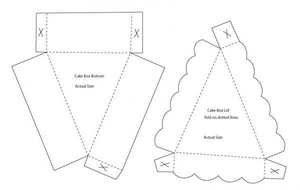 Как из бумаги сделать трафарет для торта своими руками