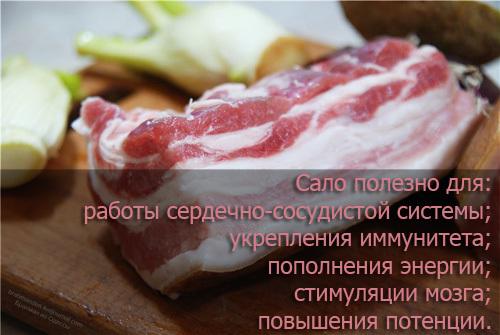 Вредно ли есть свиное сало