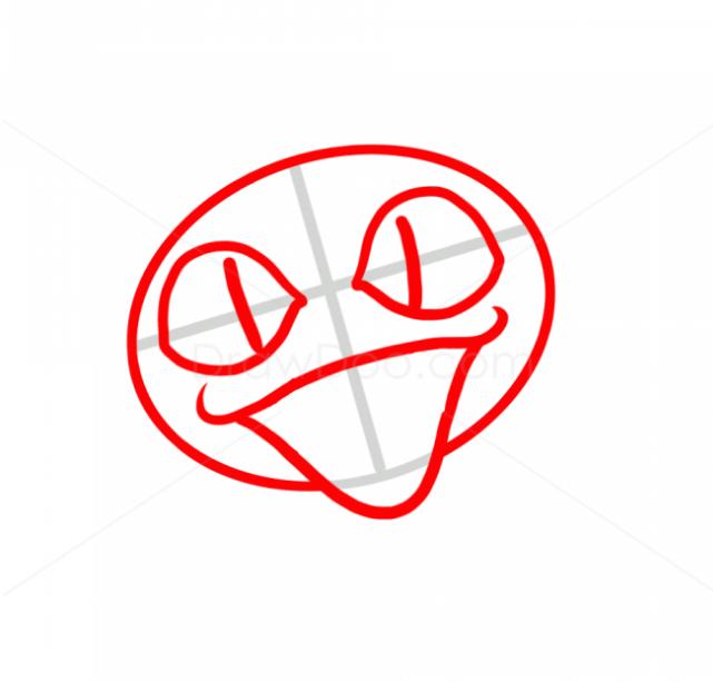 покемон Мяут рисунок поэтапно