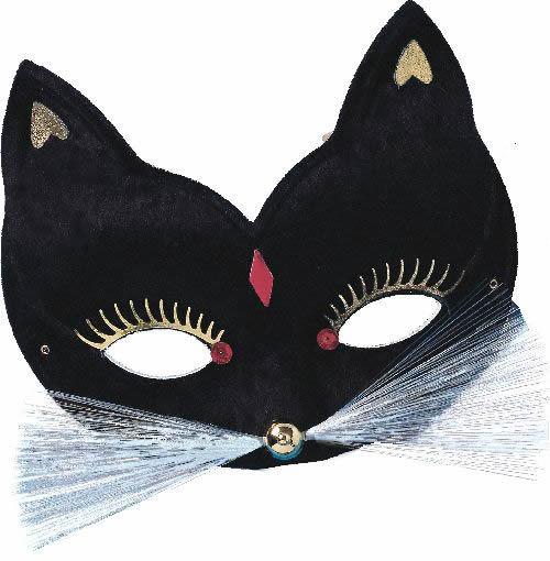 как сделать черную маску из бумаги