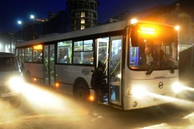 Транспорт; Общественный транспорт; Новый год; 2017; Новогодняя ночь; График работы; Города России; Город;