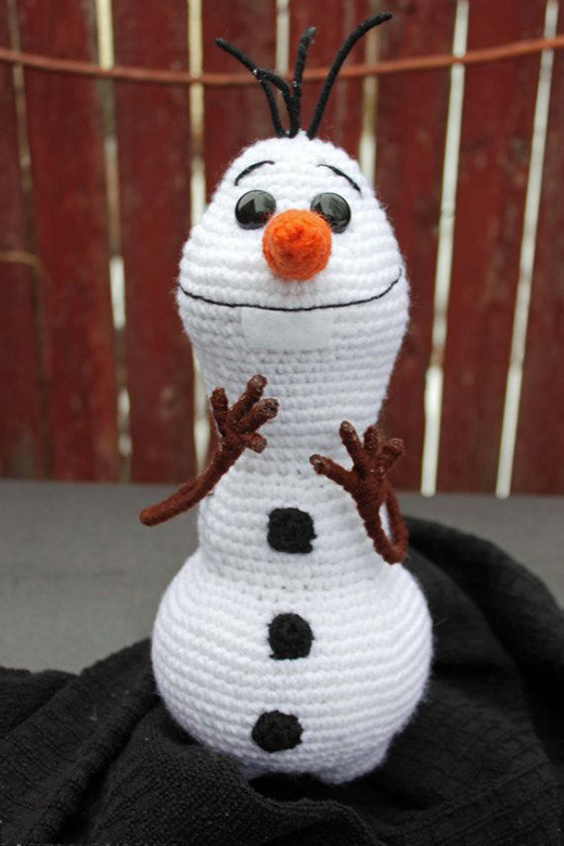 снеговик можно руками чего сделать из своими