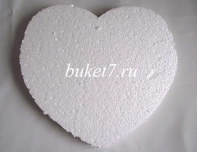 Сердце из конфет своими руками пошаговое фото