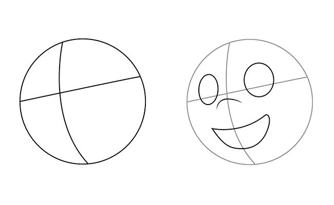 Рисуем на круглом