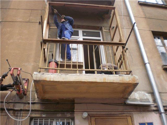 Как укрепить балкон?.