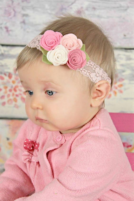 повязка на голову для девочки своими руками
