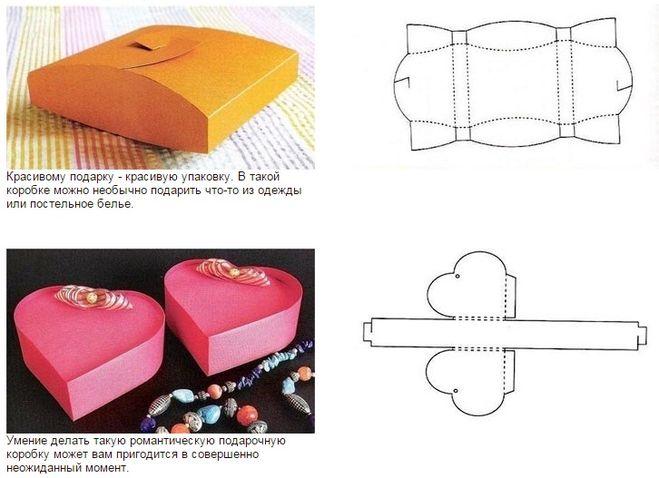 Как сделать подарочную коробку фото фото 44