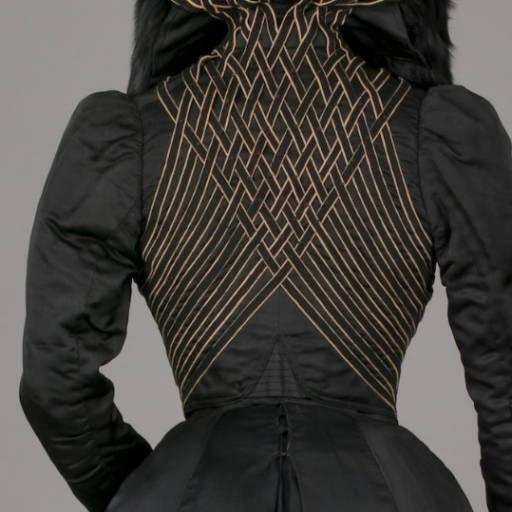 Самый красивый декор джинцевых курток 225