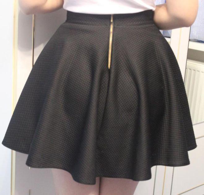 Как сшить юбку по кругу
