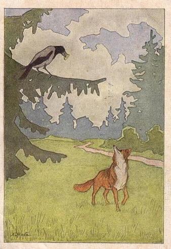 сочинение на тему басни крылова ворона и лисица 5 класс