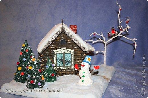 В детский сад зимние поделки