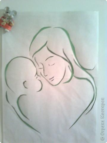своими день матери рисунки поэтапно на руками