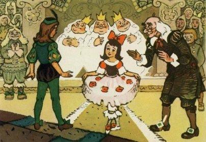 """Какой рисунок нарисовать к сказке """" Три толстяка """" ?"""