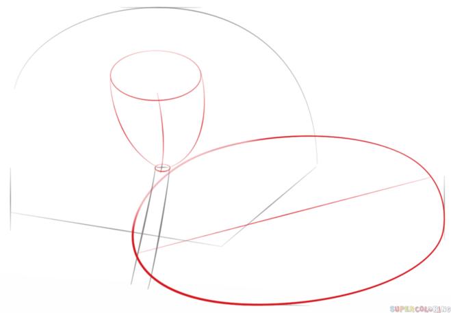 как нарисовать водную лилию 2