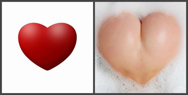Сердце и жопа