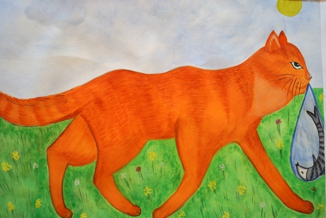 кот-ворюга паустовский
