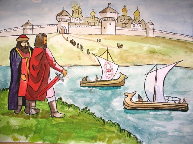 рисунки на историческую тему