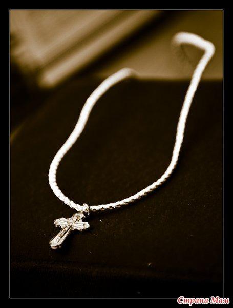 Можно носить крестик не крещенным