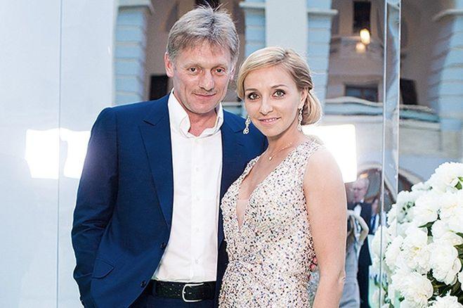 Татьяна Навка и Дмитрия Песков
