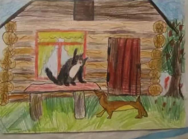 Рисунок к жильцы старого дома паустовский