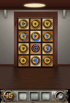 Как пройти уровень 45 в игре 100 Doors