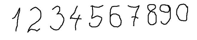Цифры и числа прописью.