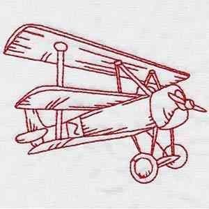 вышивка бисером самолета своими руками гладью
